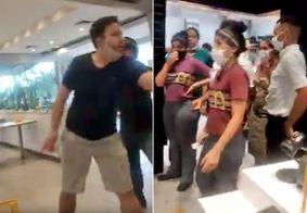 Cliente surta por causa de catchup em loja do McDonald's no interior de SP; confira o vídeo