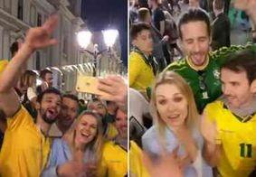 Vídeo de torcedores brasileiros com russa gera revolta na web