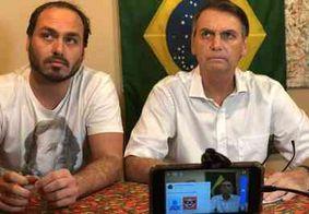 """Bolsonaro sai em defesa do filho Carlos nas redes sociais: """"Continuarei ouvindo suas sugestões"""""""
