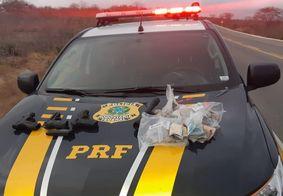 Após perseguição, PRF apreende veículo com produtos roubados, na PB