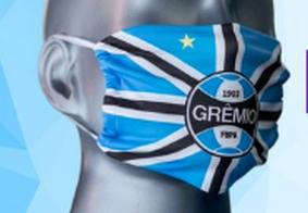 Grêmio lança máscara personalizada; parte dos lucros será para famílias em comunidade