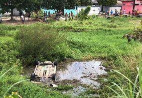 Acidente aconteceu próximo ao viaduto de Oitizeiro