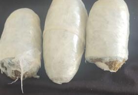 Mulher é detida tentando entrar em presídio com cocaína e maconha na vagina, na PB