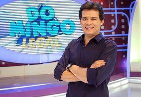 Celso Portiolli comemora 10 anos de Domingo Legal com edição especial do programa