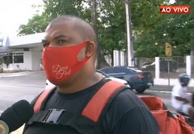 Motoboys temem redução de jornada de trabalho e realizam protesto em João Pessoa
