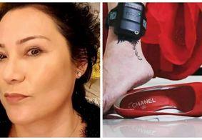 Doleira da Lava Jato posta foto de tornozeleira e sapato Chanel