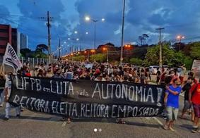 Defensoria Pública pede direito de protesto para estudantes na UFPB
