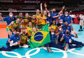 Seleção brasileira está na final do vôlei de praia