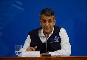 Roberto Dias, diretor do Departamento de Logística do Ministério da Saúde