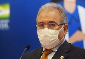 Marcelo Queiroga, ministro da Saúde.