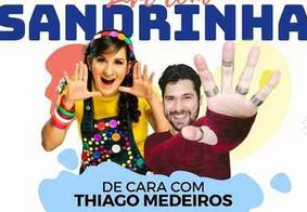 Ao vivo: acompanhe a Live infantil da cantora Sandrinha