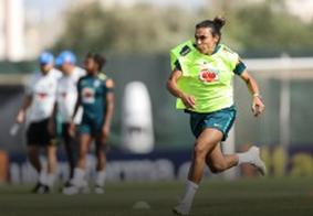 Marta será titular e reforça a seleção brasileira contra a Austrália