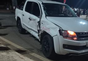 Colisão entre moto e caminhonete mata empresário no interior da Paraíba