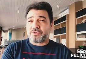 """Em áudio, Feliciano pede ajuda para """"espancar"""" Randolfe Rodrigues nas redes sociais"""