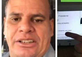 Você viu? Radialista paraibano é denunciado por publicar foto da urna no Instagram