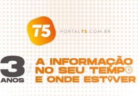 Portal T5 celebra três anos e é referência no jornalismo paraibano