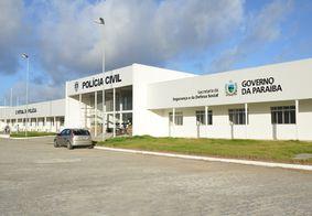 Central de Polícia Civil em João Pessoa.