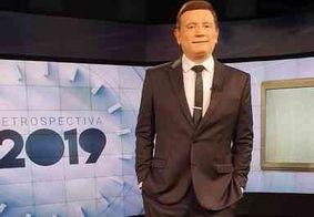 Roberto Cabrini apresenta a 'Retrospectiva 2019' do SBT nesta segunda (30)