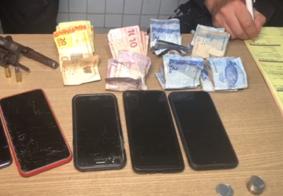 Após perseguição, PM captura 4 suspeitos de assaltos em bairros da Zona Sul de João Pessoa