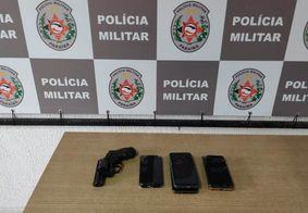 PM prende trio que vinha cometendo assaltos em João Pessoa