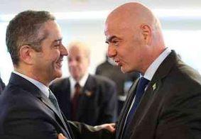 Presidentes da Fifa e CBF almoçam com Bolsonaro em Brasília