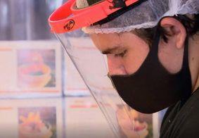 Escudos faciais são menos eficientes contra o coronavírus, diz estudo