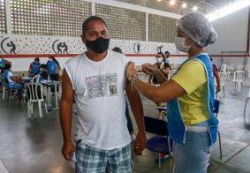 João Pessoa segue aplicando 2ª dose de vacina contra a Covid-19 nesta quarta (4)