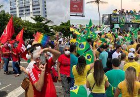 Manifestações pró e contra Bolsonaro acontecem em 5 cidades da PB nesta terça (7)