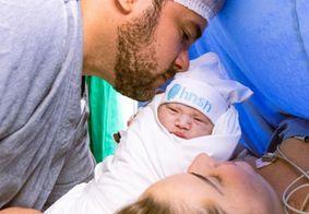 Nasce bebê de Rafael e Débora Cunha; criança já tem mais de 136 mil seguidores