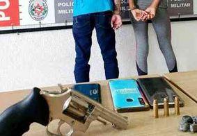 PM persegue e captura casal que assaltou loja na zona sul de João Pessoa