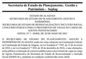 Estado de Alagoas