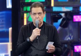 Fausto Silva apareceu magro