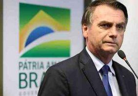 'Se usar ministério para eleição, é cartão vermelho', diz Bolsonaro