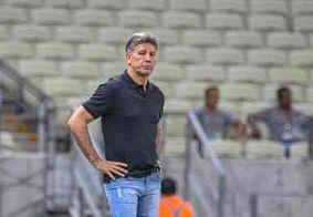 Renato Gaúcho ameaça não renovar se Grêmio investir menos no próximo ano