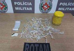 Suspeito com passagem por tráfico volta a ser preso com 181 embalagens de drogas em João Pessoa