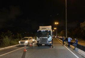 Ciclista morre atropelado por caminhão na BR-230, em JP