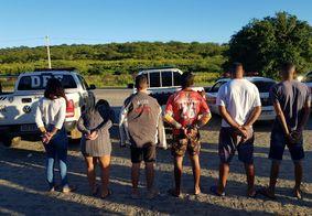Operação São Jorge prendeu seis pessoas na Paraíba