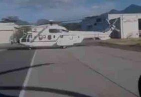 Vídeo: parentes de Bolsonaro utilizaram helicóptero da Presidência para ir ao casamento de Eduardo