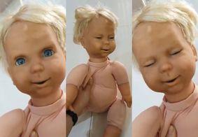 """Maisa mostra boneca """"demoníaca"""" da infância e apavora fãs; veja"""