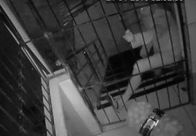 Homem é preso suspeito de arrombar churrascaria, em João Pessoa