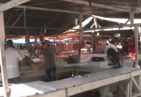Vídeo: comerciantes reclamam do atraso nas obras do Mercado de Jaguaribe