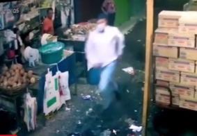 Vigilante é executado com tiro na cabeça em feira livre, na Paraíba