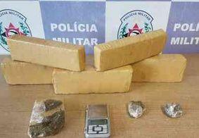 Suspeito de integrar grupo criminoso do RN é preso com drogas na Paraíba