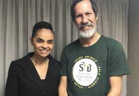 PV confirma Eduardo Jorge como vice de Marina Silva na disputa presidencial