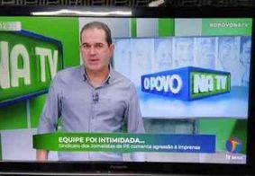 Equipe de reportagem de afiliada do SBT é agredida em Pernambuco