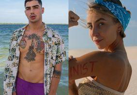 Conheça Caio Cabral e Mina Winkel, destaques do 1º episódio do 'De Férias com o Ex Brasil'