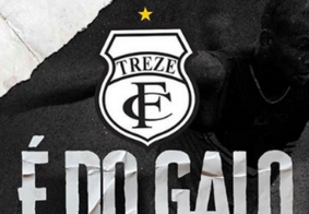 Treze anuncia primeira contratação pensando na retomada do futebol