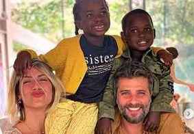 Giovanna Ewbank e Bruno Gagliasso anunciam gravidez no Instagram; veja