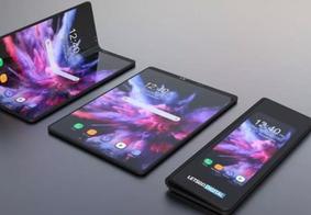 Primeiro smartphone com tela dobrável da Samsung é lançado