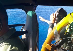 Helicóptero é acionado para suposta queda de avião no Litoral Sul da Paraíba